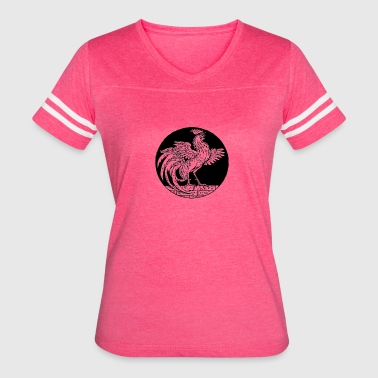 The Rooster - Women's Vintage Sport T-Shirt