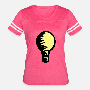 Power Engineer lightbulb light bulb gluehbirne gluehlampe lamp21 - Women's Vintage Sport T-Shirt