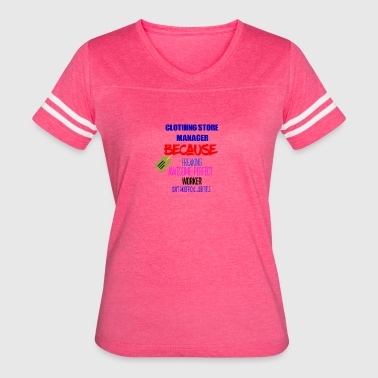 Clothing store manager - Women's Vintage Sport T-Shirt