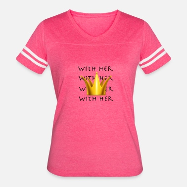 Herring With Her - Women's Vintage Sport T-Shirt