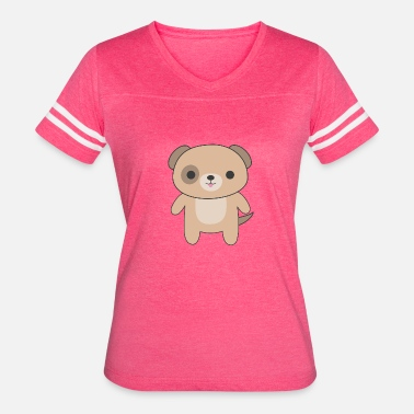 Cute And Kawaii Dog Cute amp Kawaii Brown Dog - Women's Vintage Sport T-Shirt