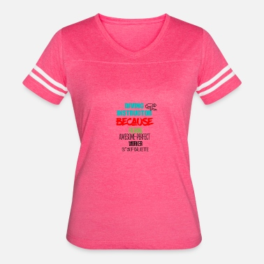 Dive Instructor Diving instructor - Women's Vintage Sport T-Shirt