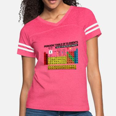 Periodic Table Periodic Table of Elements - 2018 - Women's Vintage Sport T-Shirt
