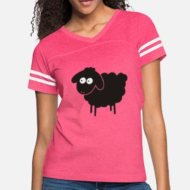 Sheep Black Sheep - Women's Vintage Sport T-Shirt