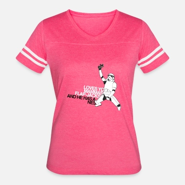 Storm Funny Star Wars storm trooper - Women's Vintage Sport T-Shirt