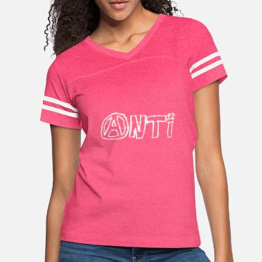 Antifascist anti slogan - gift idea - Women's Vintage Sport T-Shirt