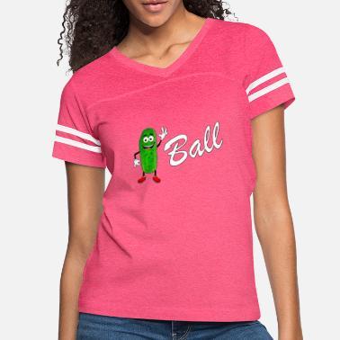 f3d4854c3 Funny Pickleball Funny Pickle Ball Player Pickleball Gift - Women's  Vintage Sport. Women's Vintage Sport T-Shirt