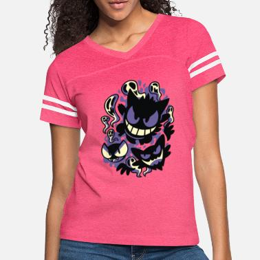 Ghastly Ghastly Haunting Ghouls - Women's Vintage Sport T-Shirt