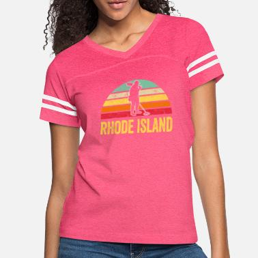 Treasure Rhode Island Treasure Finding Apparel Metal - Women's Vintage Sport T-Shirt