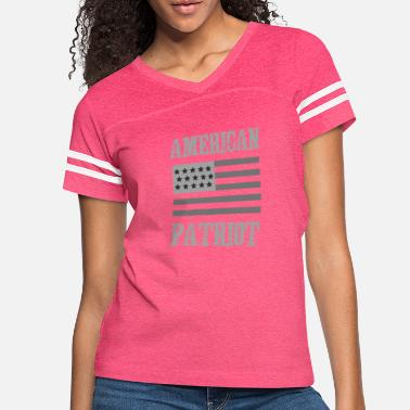 Patriot American Patriot Tactical Flag - Women's Vintage Sport T-Shirt
