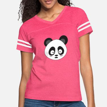 Surprise A surprised Panda - Women's Vintage Sport T-Shirt