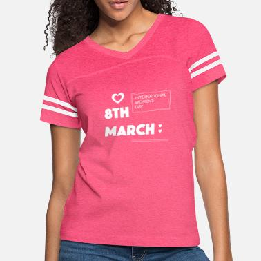 Birth Name Birth in march - Women's Vintage Sport T-Shirt
