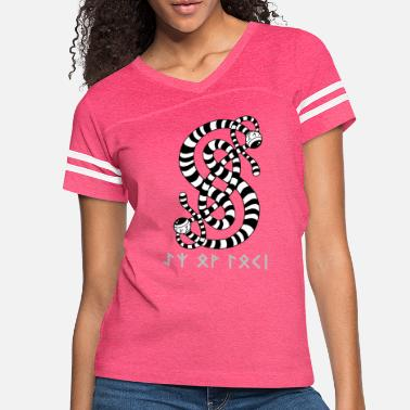 The Eyes Of Loki Sigil (Light Grey) - Women's Vintage Sport T-Shirt