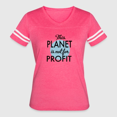 environment protection - Women's Vintage Sport T-Shirt