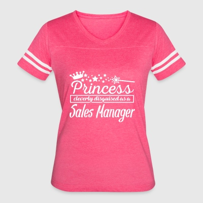 Sales Manager - Women's Vintage Sport T-Shirt