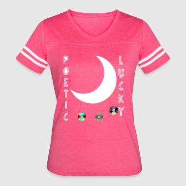 Poetic Lucky - Women's Vintage Sport T-Shirt