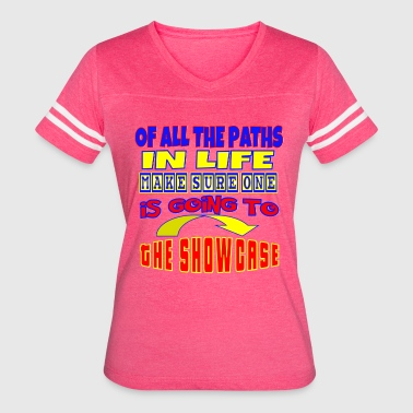 TV Game Show Contestant - TPIR (The Price Is...) - Women's Vintage Sport T-Shirt