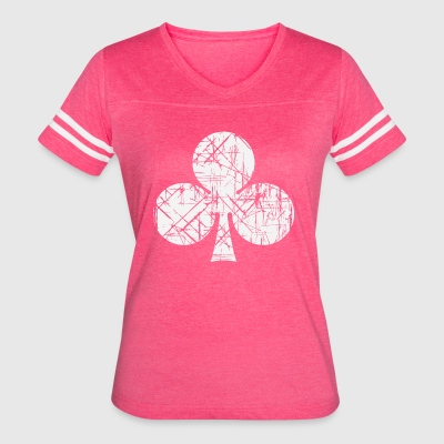 Club Play Cards - Women's Vintage Sport T-Shirt