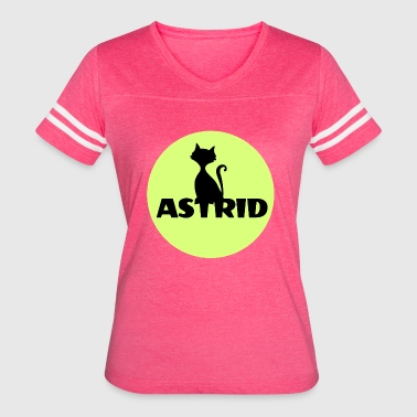 Astrid name firstname - Women's Vintage Sport T-Shirt