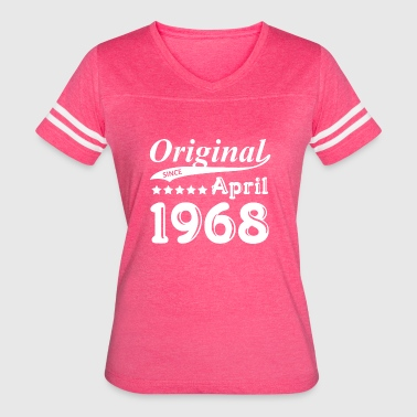Original Since April 1968 Gift - Women's Vintage Sport T-Shirt