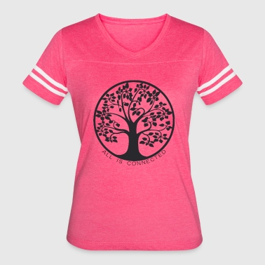 Tree of connections - Life Tree - Women's Vintage Sport T-Shirt