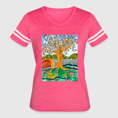 Econnectivity - Women's Vintage Sport T-Shirt