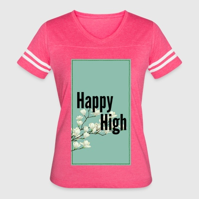 Happy High Tradition - Women's Vintage Sport T-Shirt