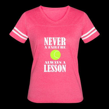 Tennis Lesson Shirt/Hoodie-Never Failure-Gift - Women's Vintage Sport T-Shirt