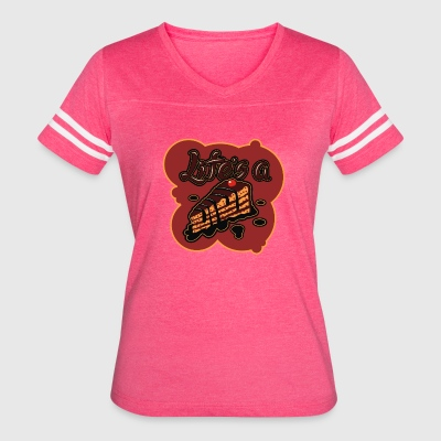Piece of Cake - Women's Vintage Sport T-Shirt