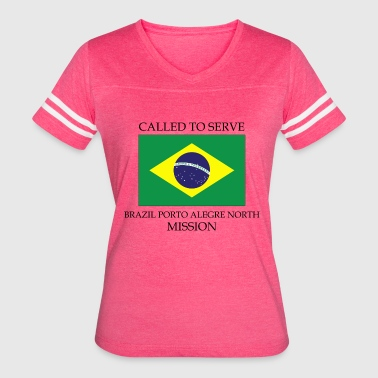 Brazil Porto Alegre North LDS Mission Called to - Women's Vintage Sport T-Shirt