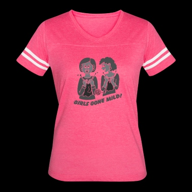 Girls Gone Mild (Light) - Women's Vintage Sport T-Shirt
