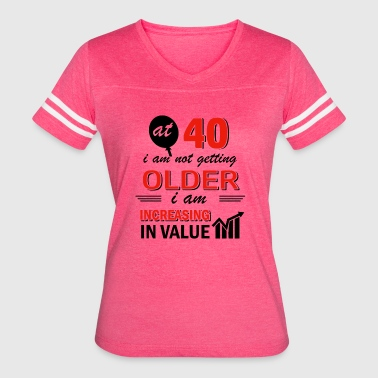 Funny 40 year old gifts - Women's Vintage Sport T-Shirt