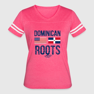 Dominican American designs - Women's Vintage Sport T-Shirt