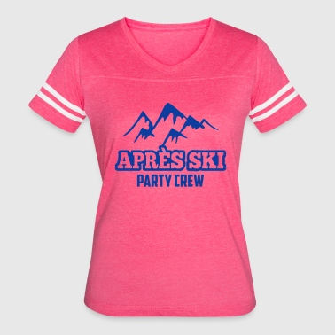 Apre s Ski Party Crew - Women's Vintage Sport T-Shirt