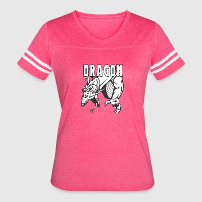 dragon_attacking - Women's Vintage Sport T-Shirt
