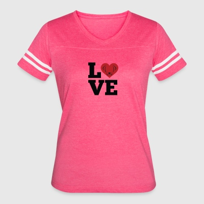 Love Dogs - Women's Vintage Sport T-Shirt