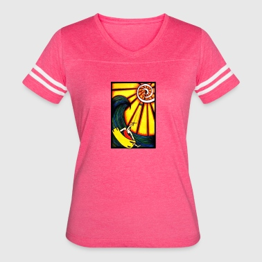 Kite into the sun - Women's Vintage Sport T-Shirt