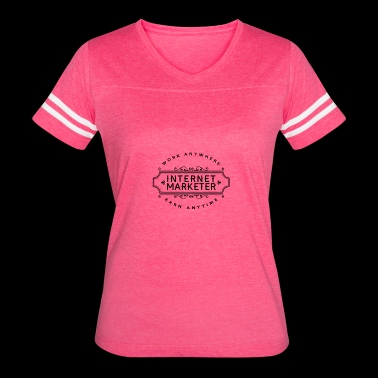 Internet Marketer Apparel - Women's Vintage Sport T-Shirt