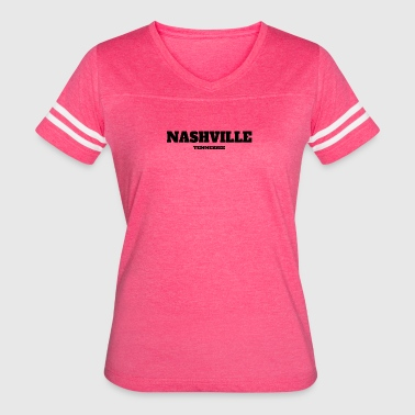 TENNESSEE NASHVILLE US EDITION - Women's Vintage Sport T-Shirt