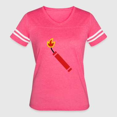 cracker or dynamite - Women's Vintage Sport T-Shirt