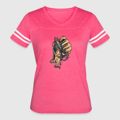 demon_hand_with_wire - Women's Vintage Sport T-Shirt