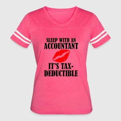 tax deductible copy - Women's Vintage Sport T-Shirt