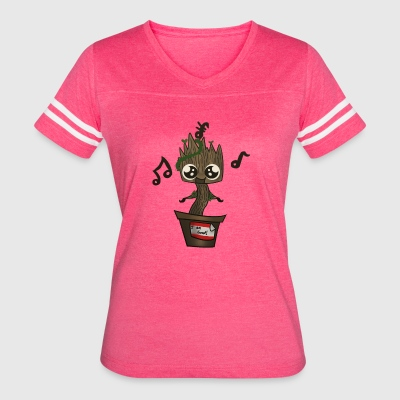 Baby Groot The Guardian Of Galaxy - Women's Vintage Sport T-Shirt