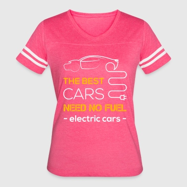 Electric cars t shirt - Women's Vintage Sport T-Shirt