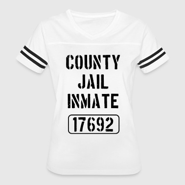 County Jail county jail inmate 17692 hipster t shirts - Women's Vintage Sport T-Shirt
