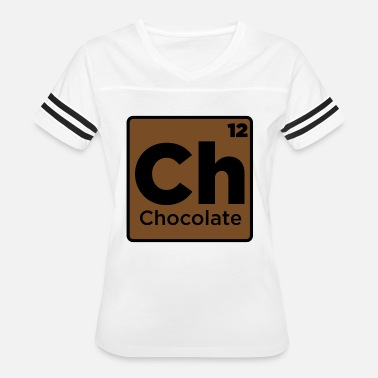 Chocolate Jokes Chocolate Element - Women's Vintage Sport T-Shirt