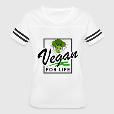 Vegan Life Vegan - Vegan for Life (Broccoli) - Women's Vintage Sport T-Shirt