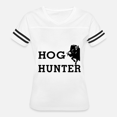Wild Pheasant Hog Hunter wild boar hog hunting hunt - Women's Vintage Sport T-Shirt