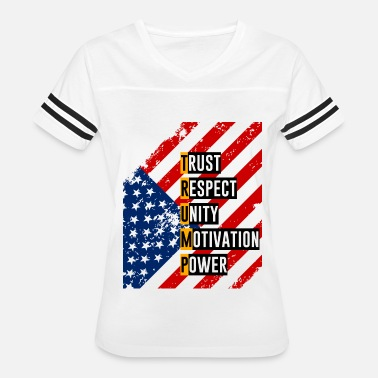 1776 ReElect Trump for President. Keep America Great! Light - Women's Vintage Sport T-Shirt
