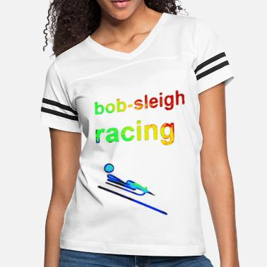 The Olympic Games Kids bob sleigh racing Winter Games 2reborn - Women's Vintage Sport T-Shirt